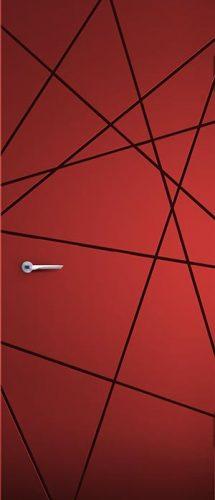 rivestimento porta blindata namib rosso