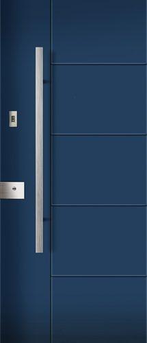 rivestimento porta blindata milano blu