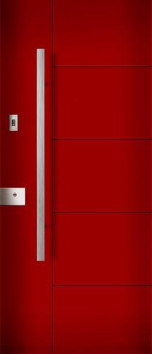rivestimento porta blindata milano rosso