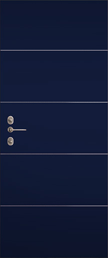 rivestimento porta blindata parigi blu