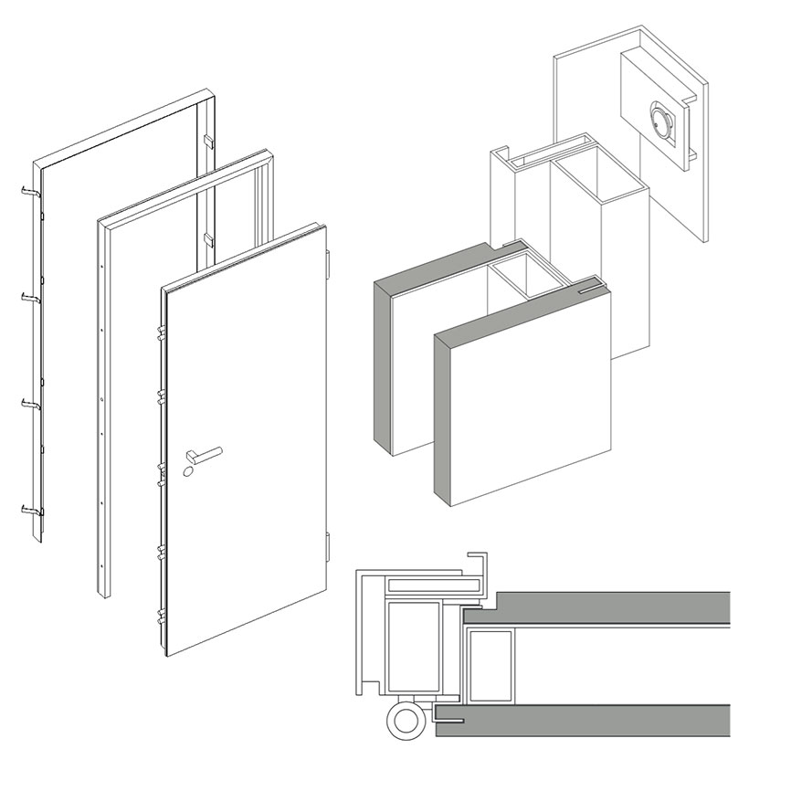 Porta blindata 16.16 1