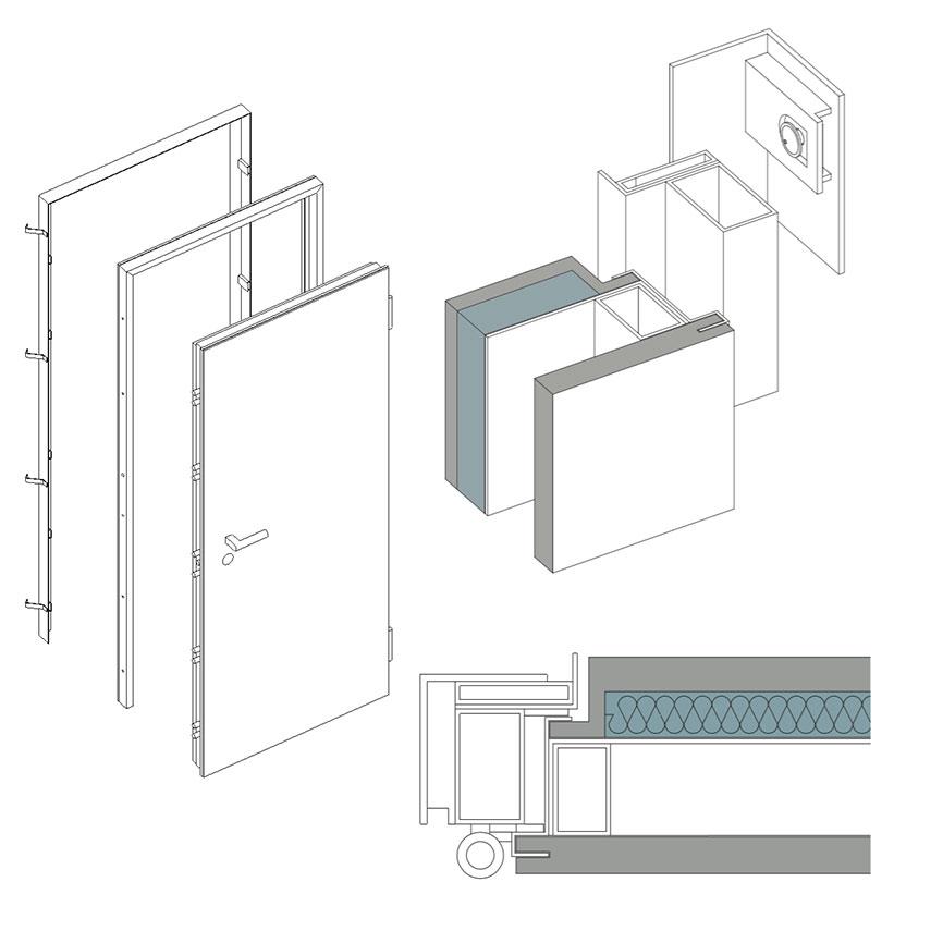 Porta blindata 35.16 1
